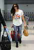 Non-Exclusive<br /> 2012 June 19 - Ashley Greene arrives at JFK Airport in NYC. Photo Credit Jackson Lee