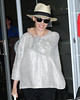 Non-Exclusive<br /> 2012 June 22 - Kylie Minogue touches down in NYC. Photo Credit Jackson Lee
