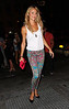 Non-Exclusive<br /> 2012 June 30 - Stacy Keibler goes to Bagatelle in NYC. Photo Credit Jackson Lee