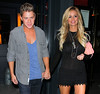 Non-Exclusive<br /> 2012 July 24 - Bachelorette Emily Maynard and Jef Holm celebrate Jef's birthday at Abe & Arthur's in NYC. Photo Credit Jackson Lee