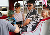 Non-Exclusive<br /> 2012 July 27 - Zuma Nesta Rossdale and Kingston Rossdale go to Central Park amusement park in NYC with mom Gwen Stefani. Photo Credit Jackson Lee