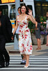 Non-Exclusive<br /> 2012 Aug 17 - Katharine McPhee on location for 'Smash' in NYC. Photo Credit Jackson Lee
