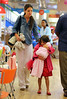 Non-Exclusive<br /> 2012 Aug 20 - Katie Holmes and Suri Cruise go to 'Make Meaning' then go get pastries at Two Little Red Hens in NYC. Photo Credit Jackson Lee
