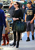 Non-Exclusive<br /> 2012 Sept 24 - Michelle Tractenberg on the set of 'Gossip Girl' in NYC. Photo Credit Jackson Lee