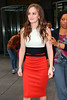 Non-Exclusive<br /> 2012 Oct 3 - Leighton Meester out and about in NYC. Photo Credit Jackson Lee