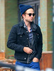 Non-Exclusive<br /> 2012 Oct 8 - Robert Pattinson out and about in NYC. Photo Credit Jackson Lee