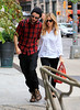 Non-Exclusive<br /> 2012 Oct 8 - Sienna Miller and Tom Sturridge out and about in NYC. Photo Credit Jackson Lee