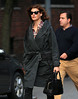 Non-Exclusive<br /> 2012 Oct 10 - Linda Evangelista out and about in NYC. Photo Credit Jackson Lee