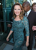 Non-Exclusive<br /> 2012 Oct 10 - Kylie Minogue leaves her hotel in a turquoise gown in NYC. Photo Credit Jackson Lee