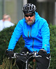 Non-Exclusive<br /> 2012 Oct 12 - Russell Crowe rides his bike with a friend in NYC . Photo Credit Jackson Lee