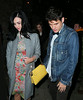 Non-Exclusive<br /> 2012 Oct 16 - John Mayer and Katy Perry celebrate his 35th birthday party at Freeman Restaurant in NYC. Photo Credit Jackson Lee