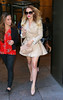 Non-Exclusive<br /> 2012 Oct 16 - Lauren Conrad's hair blows up while out and about in NYC. Photo Credit Jackson Lee