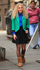 Non-Exclusive<br /> 2012 Oct 17 - Anna Sophia Robb on location for the Carrie Diaries in NYC. Photo Credit Jackson Lee