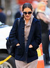 Non-Exclusive<br /> 2012 Oct 21 - Katie Holmes goes to Bubby's with her lawyer without Suri in NYC. Photo Credit Jackson Lee