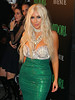 Non-Exclusive<br /> 2012 Oct 27 - Kim Kardashian and Lala Vasquez host a Halloween party by Midori at Avenue in NYC. Photo Credit Jackson Lee