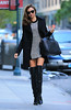 Non-Exclusive<br /> 2012 Nov 5 - Miranda Kerr out and about looking sexy in NYC. Photo Credit Jackson Lee