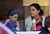 Non-Exclusive<br /> 2012 Nov 11 - Katie Holmes and Suri Cruise share an ice cream cone in NYC. Photo Credit Jackson Lee