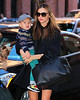 Non-Exclusive<br /> 2012 Nov 14 - Miranda Kerr takes baby Flynn and her dog Frankie to the studio in NYC  Photo Credit Jackson Lee