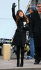 Non-Exclusive<br /> 2012 Nov 18 - Lea Michele on the set of 'Glee' in NYC. Photo Credit Jackson Lee