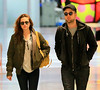 Non-Exclusive<br /> 2012 Nov 26 - Robert Pattinson and Kristen Stewart jet out of the Big Apple at JFK Airport. Photo Credit Jackson Lee