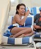 Non-Exclusive<br /> 2012 Dec 11 - Kate Walsh lounges around the beach in Miami Beach, Fl. Photo Credit Jackson Lee