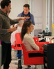 Non-Exclusive<br /> 2012 Dec 14 - Irina Shayk gets her hair done in NYC. Photo Credit Jackson Lee