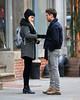 Non-Exclusive<br /> 2012 Dec 20 - Zac Efron and Imogen Poots film a scene for 'Are we dating yet' in NYC. Photo Credit Jackson Lee