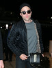 Non-Exclusive<br /> 2012 Dec 22 - Robert Pattinson arrives at JFK Airport in NYC.  Photo Credit Jackson Lee