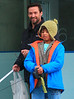 Non-Exclusive<br /> 2012 Dec 24 - Hugh Jackman takes kids Ava and Oscar to the Nintendo Store at Rockefeller Center in NYC. Photo Credit Jackson Lee