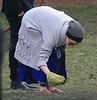 Non-Exclusive<br /> 2013 Jan 9 - Anne Hathaway picks up dog poop at the park in Brooklyn, NY. Photo Credit Jackson Lee