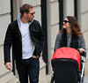Non-Exclusive<br /> 2013 Jan 12 - Drew Barrymore and Will Kopelman take baby Olive out for a stroll in NYC. Photo Credit Jackson Lee