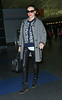 Non-Exclusive<br /> 2013 Jan 15 - Miranda Kerr arrives at JFK airport without her sunglasses on in NYC. Photo Credit Jackson Lee