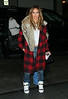 Non-Exclusive<br /> 2013 Jan 22 - Jennifer Lopez shows off her street style by wearing ripped jeans, high-heel sneakers despite the below freezing temperatures with sister Lynda Lopez in NYC. Photo Credit Jackson Lee