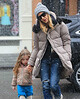 Non-Exclusive<br /> 2013 Jan 28 - Sarah Jessica Parker takes twins Marion and Tabitha on a playdate in NYC. Photo Credit Jackson Lee