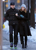 Non-Exclusive<br /> 2013 Feb 10 - One of the first shots of Olivia Wilde and Jason Sudeikis out and about in NYC after their engagement.  The pair went to a local restaurant for lunch after attending a Knicks game.  Olivia had just recently came back from Rome after doing a photoshoot there.  Funnyman Jason had a successful performance on 'Saturday Night Live' with Justin Bieber the night before.. Photo Credit Jackson Lee