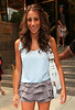 2010 Aug 16 - Danielle Jonas out and about in NYC. Photo credit Jackson Lee