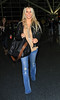 2011 Mar 25 - Jessica Simpson flies out of JFK Airport in NYC. Photo Credit Jackson Lee