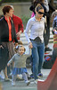 Non-Exclusive<br /> 2011 Apr 30 - Sarah Jessica Parker walks twins Marion and Tabitha in sunny NYC. Photo Credit Jackson Lee