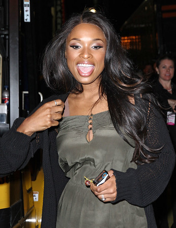 Non-Exclusive<br /> 2011 May 1 - Jennifer Hudson out and about in NYC. Photo Credit Jackson Lee