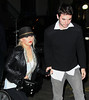 Non-Exclusive<br /> 2011 May 2 - Christina Aguilera and Matt Rutler go to dinner in NYC. Photo credit Jackson Lee