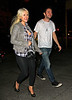 Non-Exclusive<br /> 2011 May 7 - Christina Aguilera and Matt Rutler head out to Darby nightclub in NYC. Photo Credit Jackson Lee