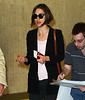 Non-Exclusive<br /> 2011 May 8 - Keira Knightley arrives at JFK airport in NYC. Photo credit Jackson Lee