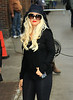Non-Exclusive <br /> 2011 May 16 - Christina Aguilera and Matt Rutler arrive at David Letterman Show in NYC. Photo Credit Jackson Lee