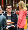 Non-Exclusive<br /> 2011 May 19 - Jim Carrey stuffs his face and signs for his fans at Bar Pitti, NYC. Photo Credit Jackson Lee