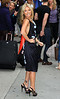 Non-Exclusive<br /> 2011 May 19 - Kelly Ripa at the 'David Letterman Show' in NYC. Photo Credit Jackson Lee