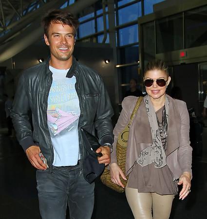 2011 May 26 - Josh Duhamel and Fergie depart NYC. Photo Credit Jackson Lee