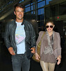 2011 May 26 - Josh Duhamel and Fergie depart NYC. Photo Credit Jackson Lee
