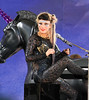 Non-Exclusive<br /> 2011 May 27 - Lady Gaga plays on a unicorn piano and has three outfit changes when performing on 'Good Morning America' in NYC. Photo Credit Jackson Lee