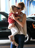 Non-Exclusive<br /> May 29 - Nicole Kidman and Keith Urban take Sunday Rose bowling at Chelsea Piers in NYC. Photo Credit Jackson Lee