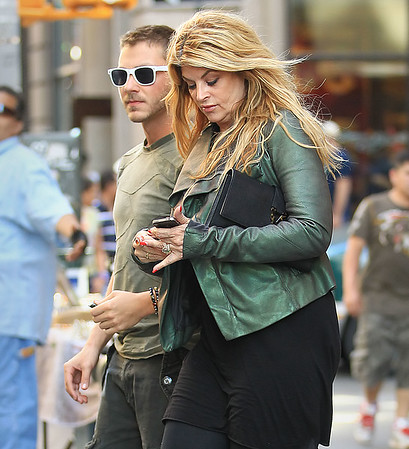 Non-Excllusive - <br /> 2011 June 2 - Kirstie Alley and son True Stevenson out and about in NYC. Photo Credit Jackson Lee